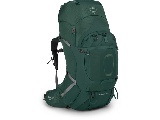 Osprey Aether Plus 70 Backpack, axo green